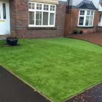 Buy cheap Garden Residential Fake Grass Tile / Hotel Shop Office Artificial Putting Green from wholesalers