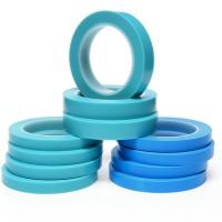 Buy cheap 4737T 3M Scotch Tape High Temperature Fine Line Tape Blue Masking Backing Vinyl Adhesive Tape from wholesalers