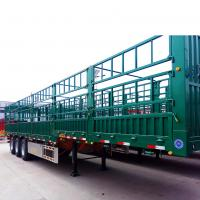 Buy cheap Tri - Axle 45 Tons Heavy Duty Semi Trailers For Warehouse / Store House from wholesalers