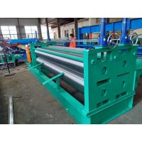 Buy cheap Corrugated Sheet Roll Forming Machine Steel Plate Frame 0.1mm-0.2mm Thickness from wholesalers