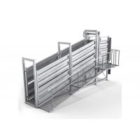 Buy cheap Portable Cattle Loading Ramp Non Slip Walkway Anti Corrosion Finish from wholesalers