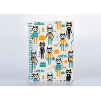 Buy cheap Matte Finishing Soft Cover Notebook / Journal With Spiral Binding And Cartoon Pattern from wholesalers