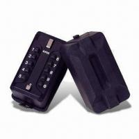 Buy cheap 10-bush Button Lock Box/Key Safes with Zinc Alloy Lock and Rubber Cover from wholesalers