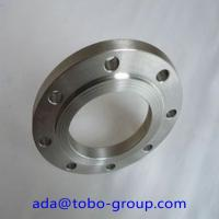 Buy cheap Forged Super Duplex 2507 Stainless Steel Flanges , Inconel718 07Cr19Ni1 SHH304H BL flange product