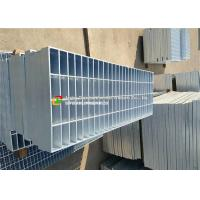 Buy cheap Carbon Steel Serrated Metal Grating , Tench Cover Galvanised Steel Mesh Walkway  from wholesalers