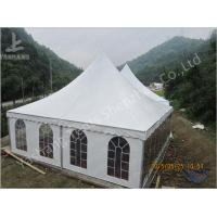 Buy cheap Aluminum Frame 8x8 Gazebo Canopy Tents , Outdoor High Peak Tents For Restaurant from Wholesalers