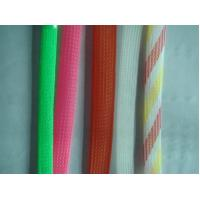 China PET expandable braided sleeves/tubes/hose on sale