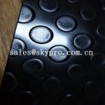 Buy cheap Non slip silver color Plastic Sheet  thin gloosy PVC diamond thread pattern floor mat from wholesalers