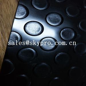 Buy cheap Non slip silver color Plastic Sheet  thin gloosy PVC diamond thread pattern floor mat product