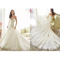 Buy cheap A Line Tea Length Wedding Dresses from wholesalers