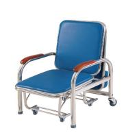 Buy cheap Stainless Steel Accompany'S Chair Bed , Foldable Sleeping In Hospital Chair from wholesalers