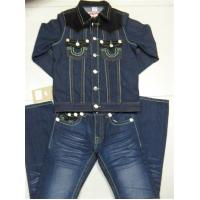Buy cheap True Religion Men's Jacket and Jeans Set 1009 from wholesalers