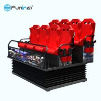 Buy cheap High Speed 5D Theater Equipment AC 220V Voltage 8.0kw Total Power For Children from wholesalers