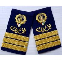 Buy cheap Twill / Cotton / Felt Military Custom Embroidered Patches, Embroidery Badges from wholesalers