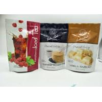 Buy cheap Zipper Plastic Pouch Aluminum Foil Packaging Bags 10 Colors Printing Smell Proof from wholesalers