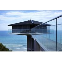 Buy cheap Customized Glass Balcony Railing Prices, Aluminum U channel Railing product