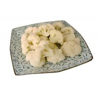 Buy cheap Delicious IQF Fresh Frozen Foods , Green New Harvest Frozen Cauliflower for Supermarkets from wholesalers