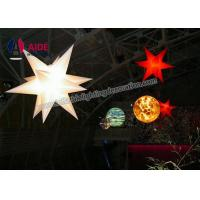 Buy cheap 3M Inflatable LED Star Colored LED Lights With Flowers For Celebration from wholesalers