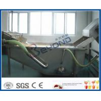 Buy cheap Surfing Type Fruit And Vegetable Washer Machine / Fruit And Vegetable Cleaning Machine from wholesalers