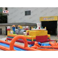 Buy cheap Inflatable Commercial Bounce House Trampoline With Happy Goat from wholesalers
