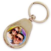 Buy cheap OEM Promotional Personalized Metal Keychains Customized Printing Blanks from wholesalers