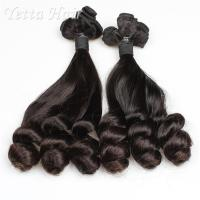 Buy cheap Real Indian Funmi Virgin Hair , Remy Human Hair Weave For Black Women from wholesalers