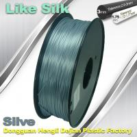 Buy cheap Polymer Composites 3d Printer filament  1.75 / 3.0 mm  ,Imitation Like Silk Filament ,High Gloss product