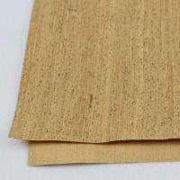 Buy cheap 0.8mm Durable Nature Cork Fabric/Leather for Wall Decoration, Phone Cover and Note Book Making from wholesalers