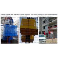 Buy cheap SC200 Construction Elevator 2 tons 60m Building Site Hoist With Images and Catloge from wholesalers