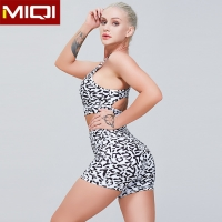 Buy cheap Ladies Hot Sale Custom Fitness Workout 2 Piece Sportswear Women Dry Fit Elastic Breathable Sublimation Yoga Set from wholesalers