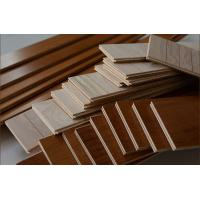 Buy cheap Iroko engineered wood flooring with different stains; AB grade, flat surface, good quality from wholesalers