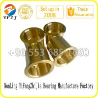 Buy cheap high quality manufacture bearing factoy bush,Crusher bronze bushing,Oil Groove Bronze Bushing from wholesalers