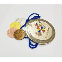 Buy cheap Factory direct sale custom metal diamond shaped gold plated carnival medals with sandblastinggermany carnival medal , from wholesalers