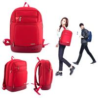 Buy cheap leisure men backpack with 14inch laptop sleeve computer travel bag from wholesalers