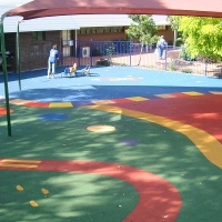 Buy cheap 4mm Rubber Playground Mats from wholesalers