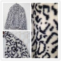 Buy cheap Womens Faux Fur Jacket , Water Resistant Fake Fur Leopard Coat product