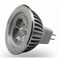 Buy cheap 4 watt E14 / GU10 high power led spotlight 45 Degree Beam Angle with Wide Voltage from wholesalers