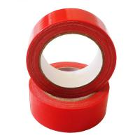 Buy cheap Red Decorative Wide Duct Tape 12 Inch Easy Tear Cloth No Adhesive Residue from wholesalers