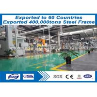 Buy cheap Light Metal Fabrication Steel Frame Structure Low Cost Advancedly Painted from wholesalers