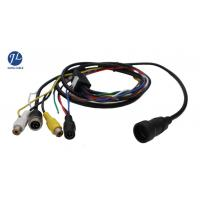 Buy cheap 12V 24V 13 Pin Din Cable For Rear View System , Video And Power Cable Single Shielding product