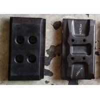 China Lightweight Rubber Pads For Tracks , Paver Machine Small Rubber Pads on sale