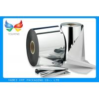 Buy cheap 45mic Coated Glossy Silver Metalized Polyester (PET) Face Stock Films For PS Label from wholesalers