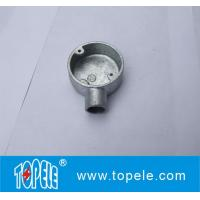 Buy cheap TOPELE BS4568 / BS31 Malleable Iron / Aluminum One Way Terminal Electrical Conduit Circular Junction Box product