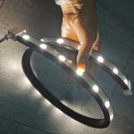 Buy cheap 5m led wall washer lighting ouotdoor IP65 flex strips 24v 18Watt high lumen bar lights from wholesalers