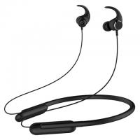 Buy cheap V4.2 Neckband Bluetooth Headphones With Microphone Built In Black Color from wholesalers