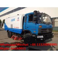 Buy cheap 2018s Factory sale best price RHD 170hp diesel road brushing sweeping vehicle for sale, Cheapest price street sweeper from wholesalers
