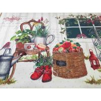 Buy cheap Microfiber Neoprene Rubber Sheet Sublimation Floor Door Mat Natural Rubber Backing from wholesalers
