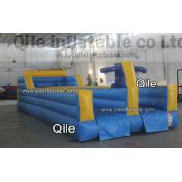 Buy cheap Customized Commercial grade 0.55mm PVC tarpaulin Inflatable Bungee Game Hire, Rental from wholesalers