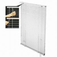 Buy cheap Clear View Venetian Blinds with Nearly Transparent Slats, Available in Metal or PVC Head Rail from wholesalers