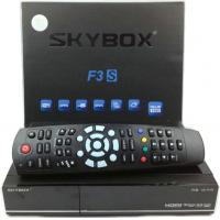 Buy cheap Original Skybox F3S HD Satellite Receiver with Card Sharing CCcam Newcam MGcam from wholesalers